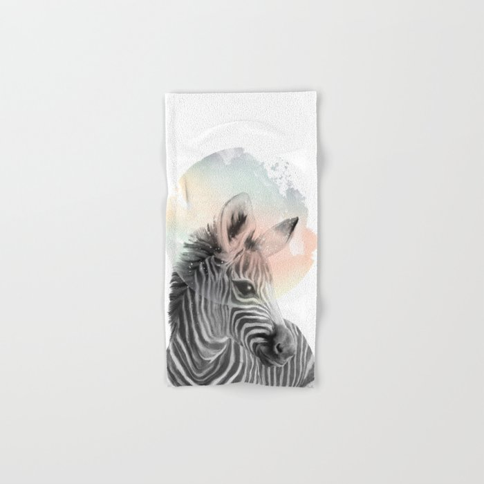 Zebra // Dreaming Hand & Bath Towel