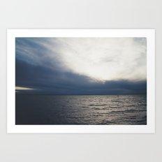 Distance. Art Print