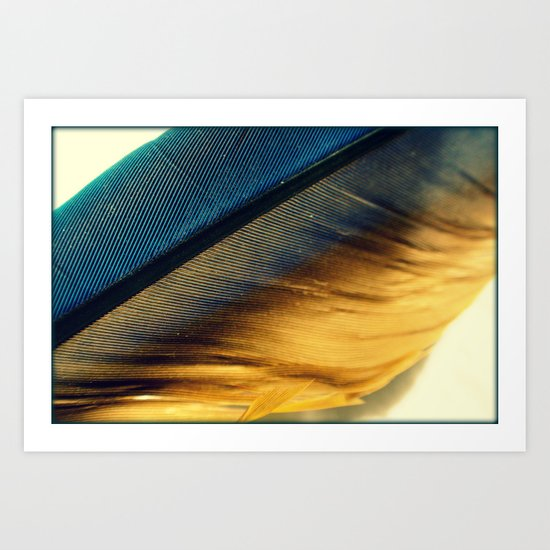 Feather Light Art Print