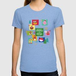 Retro Christmas T-shirt