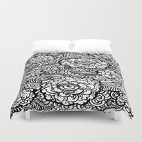 evil eye Duvet Covers featuring Evil Eye by Emily N3ver