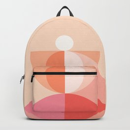 Abstraction_Geometric_Circles_MInimalism_001 Backpack