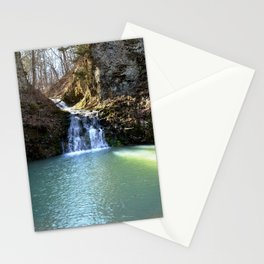 Alone in Secret Hollow with the Caves, Cascades, and Critters, No. 3 of 21 Stationery Cards