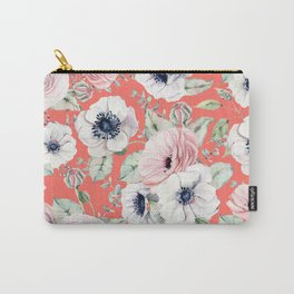 FLOWERS WATERCOLOR 32 Carry-All Pouch