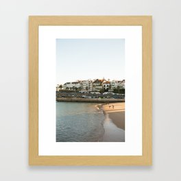 Praia da Ribeira Framed Art Print