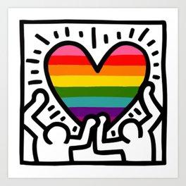Keith Haring Art Prints Society6