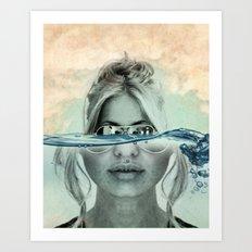 magnify Art Print