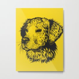Dog Graphic sketch Metal Print
