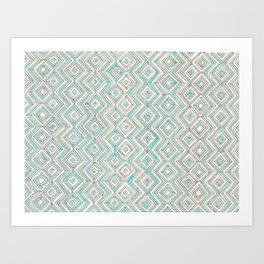 zig--zag Art Print
