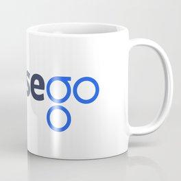 OmiseGo OMG Dark Blue Original Logo Coffee Mug