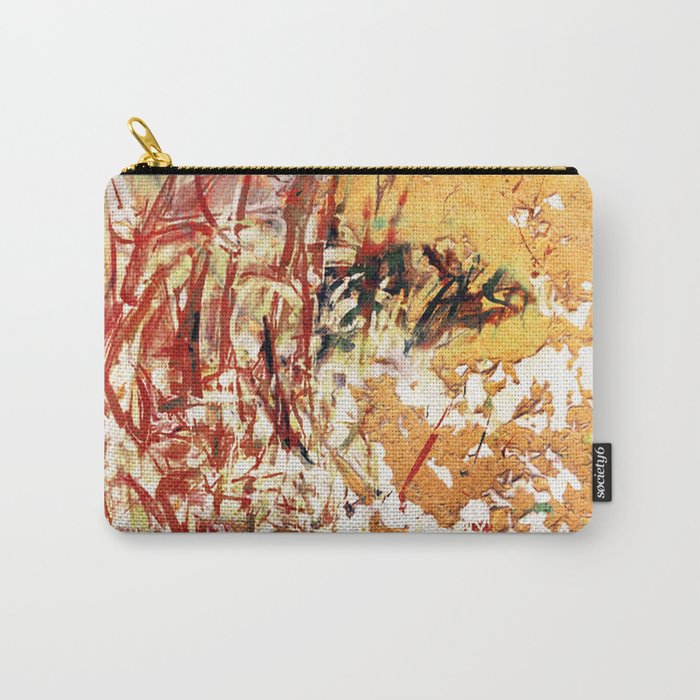Red and Yellow Wall Carry-All Pouch