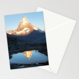 Matterhorn Sunrise Stationery Cards