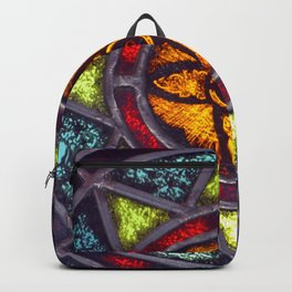 Stained Glass Star Backpack