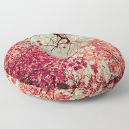 Autumn Inkblot Floor Pillow