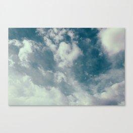 Soft Dreamy Cloudy Sky Canvas Print
