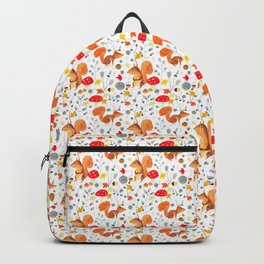 Pattern #64 - Woodland squirrels Backpack