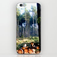 woods iPhone & iPod Skins featuring Woods by madbiffymorghulis