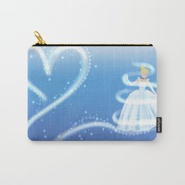 Cinderella Magic - Blue Carry-All Pouch