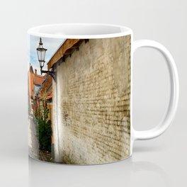 Narrow streets of Ribe Coffee Mug