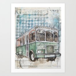 Hop on Art Print
