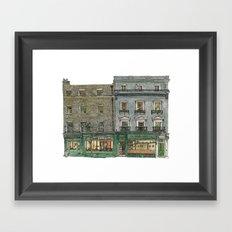 The Copper Kettle, Kings Parade, Cambridge, UK. Framed Art Print