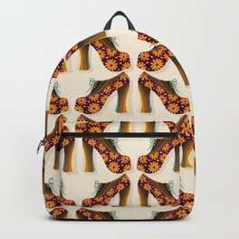 Disco Platforms – Fuchsia & Orange Backpack
