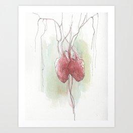 Hearts Combined No. 3 Art Print