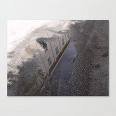 Youth Hostel found in a Puddle Canvas Print