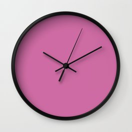 Super Pink Wall Clock