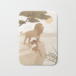 Spirit Animal – Lion Bath Mat