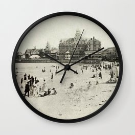 1889 Narragansett Towers, Casino, & Rockingham Hotel, Narragansett, Rhode Island Wall Clock