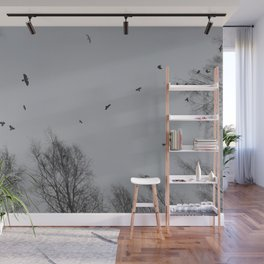 Crow Hour Wall Mural