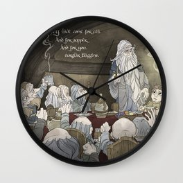 They've come for tea, & for supper, & for you Wall Clock