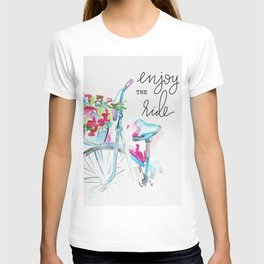 Enjoy the Ride - Bike T-shirt