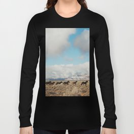 Running Reservation Horses Long Sleeve T-shirt