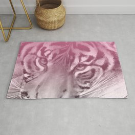 Tiger - Pink Rug