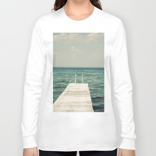 Mint Lake Escape  Long Sleeve T-shirt