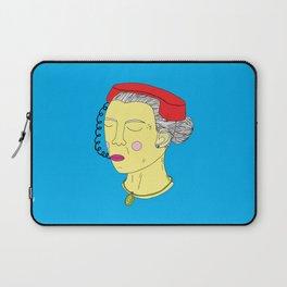 Anxious Lady Laptop Sleeve