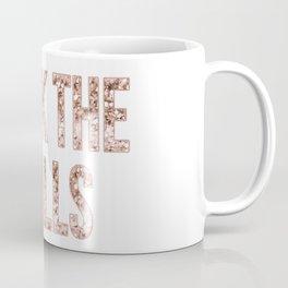 Deck the halls en rose gold Coffee Mug