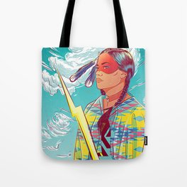 Thunder Woman Tote Bag