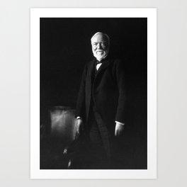 Andrew Carnegie Art Print