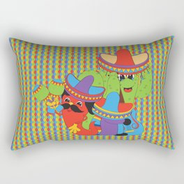 Fiesta Time! Rectangular Pillow
