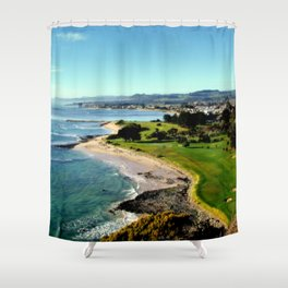 Fossli's Bluff - Tasmania Shower Curtain