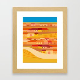 Latin Culture in New England Framed Art Print