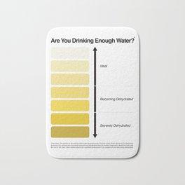 Pee Color Chart / Urine Color Chart Bath Mat