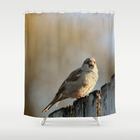lonely Shower Curtains featuring Independent! by IowaShots