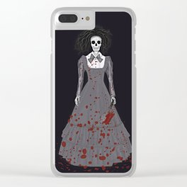 A Thrilling Revenge Clear iPhone Case
