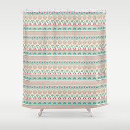 Ethnic , ornament , tribal , pastel Shower Curtain