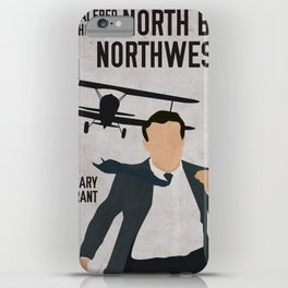 Alfred Hitchcock's North By Northwest Movie Print iPhone Case