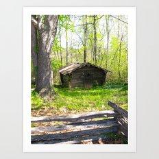 Oak at Sautee Art Print